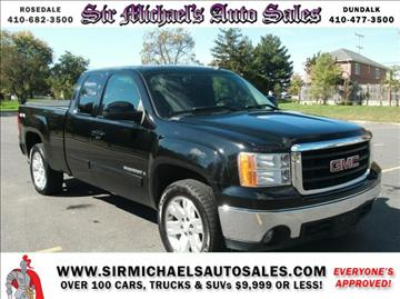 2007 GMC Sierra 1500 for sale in Sparrows Point, MD