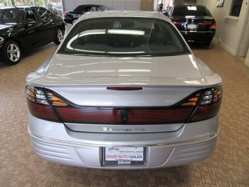 2001 Pontiac Bonneville for sale at Redefined Auto Sales in Skokie IL