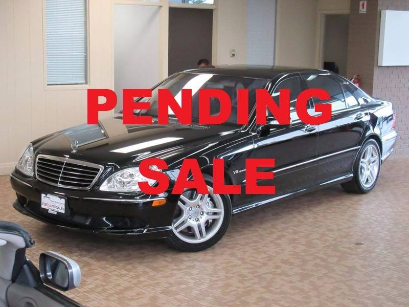 2003 Mercedes-Benz S-Class for sale at Redefined Auto Sales in Skokie IL