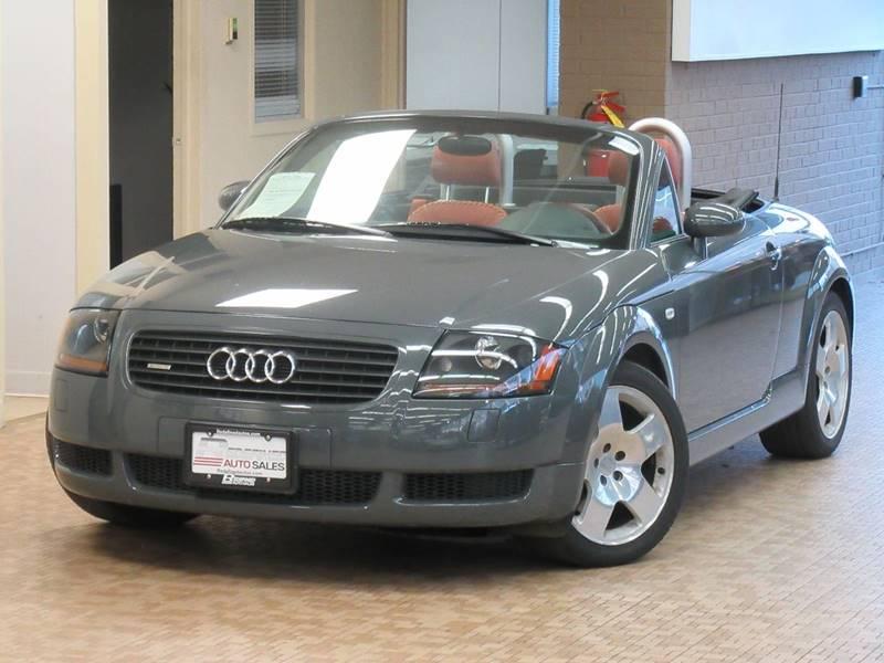 Audi TT Hp Quattro In Skokie IL Redefined Auto Sales - 2002 audi