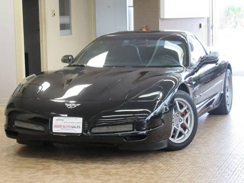2002 Chevrolet Corvette for sale at Redefined Auto Sales in Skokie IL