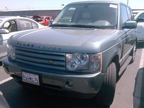 2005 Land Rover Range Rover for sale at Redefined Auto Sales in Skokie IL