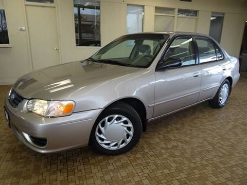 2002 Toyota Corolla for sale at Redefined Auto Sales in Skokie IL