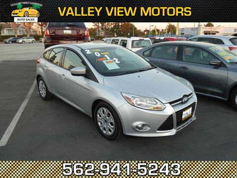 2012 Ford Focus for sale in Whittier, CA