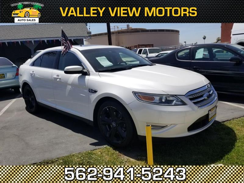 2010 ford taurus awd sho 4dr sedan in whittier ca valley for Valley view motors whittier ca