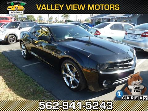 Chevrolet camaro for sale in whittier ca for Valley view motors whittier ca