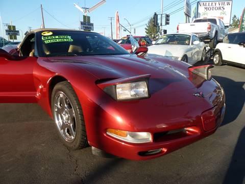 1999 chevrolet corvette for sale for Valley view motors whittier ca