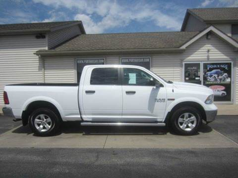 2015 RAM Ram Pickup 1500 for sale at Portage Car & Truck Sales Inc. in Akron OH