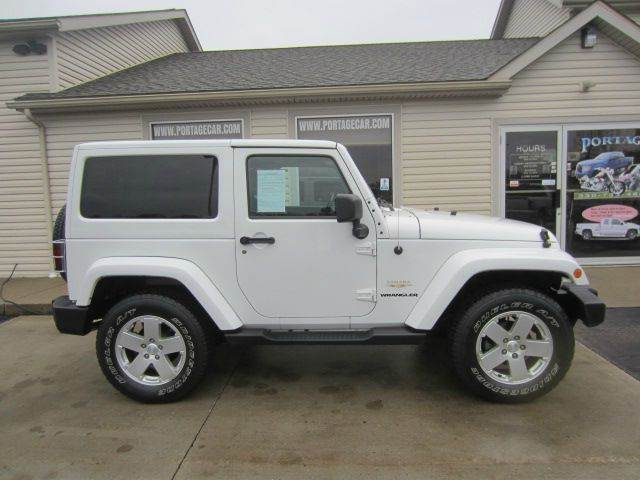 2012 Jeep Wrangler for sale at Portage Car & Truck Sales Inc. in Akron OH