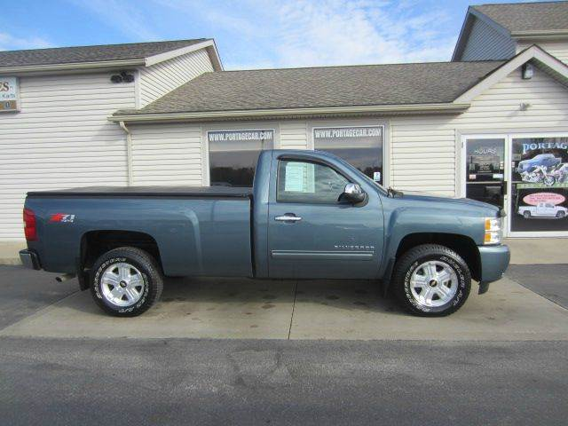 2010 Chevrolet Silverado 1500 4x4 Lt 2dr Regular Cab 8 Ft