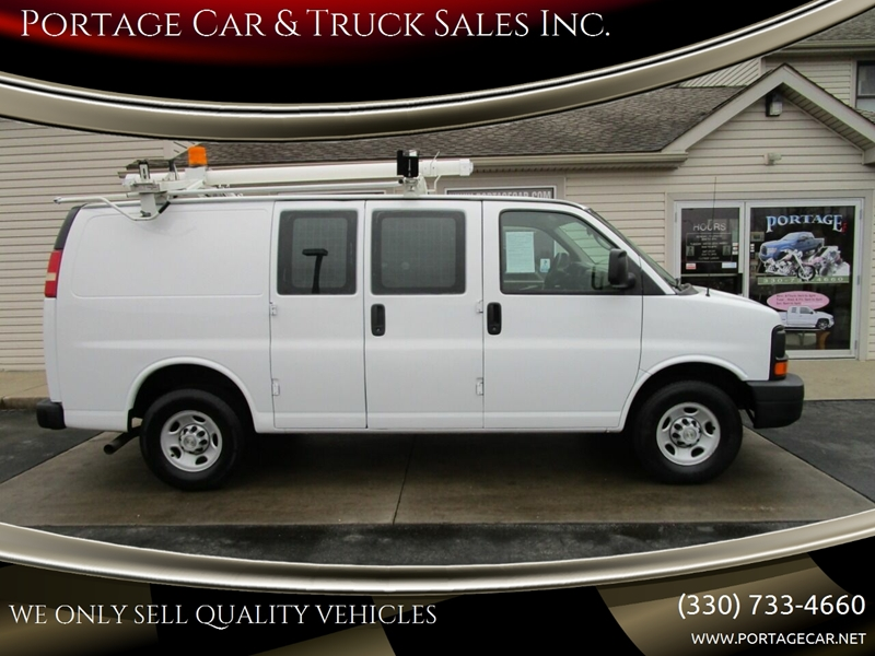 2007 Chevrolet Express Cargo 2500 3dr Cargo Van In Akron Oh