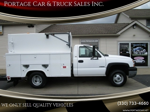 Used Trucks For Sale In Ohio >> 2005 Chevrolet Silverado 3500 For Sale In Akron Oh
