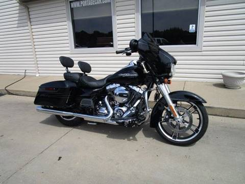 2014 HARLEY DAVIDSON FLHXS STREET GLIDE for sale at Portage Car & Truck Sales Inc. in Akron OH