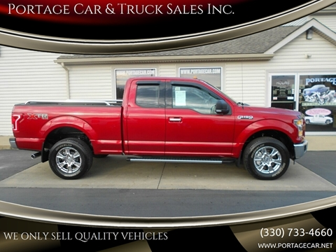 2015 Ford F-150 for sale at Portage Car & Truck Sales Inc. in Akron OH