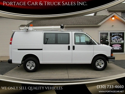 2011 Chevrolet Express Cargo for sale at Portage Car & Truck Sales Inc. in Akron OH