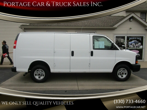 2007 GMC Savana Cargo for sale at Portage Car & Truck Sales Inc. in Akron OH