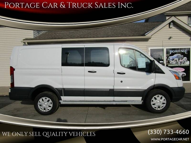 2016 Ford Transit Cargo for sale at Portage Car & Truck Sales Inc. in Akron OH
