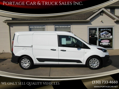 2017 Ford Transit Connect Cargo for sale at Portage Car & Truck Sales Inc. in Akron OH