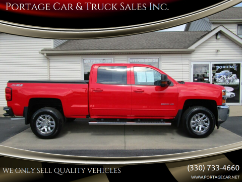 2017 Chevrolet Silverado 2500HD for sale at Portage Car & Truck Sales Inc. in Akron OH