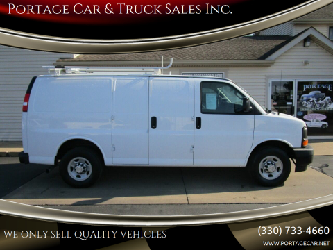 2017 Chevrolet Express Cargo for sale at Portage Car & Truck Sales Inc. in Akron OH