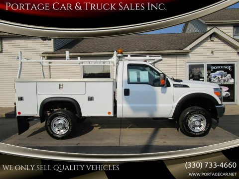 2014 Ford F-250 Super Duty for sale at Portage Car & Truck Sales Inc. in Akron OH