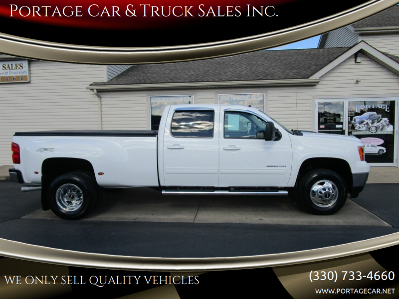 2013 GMC Sierra 3500HD for sale at Portage Car & Truck Sales Inc. in Akron OH