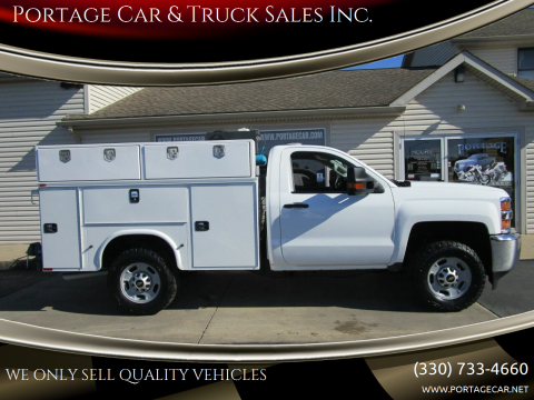 2016 Chevrolet Silverado 2500HD for sale at Portage Car & Truck Sales Inc. in Akron OH