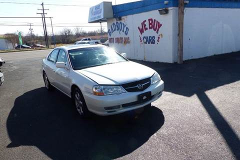 2002 Acura TL for sale in Arlington, TX