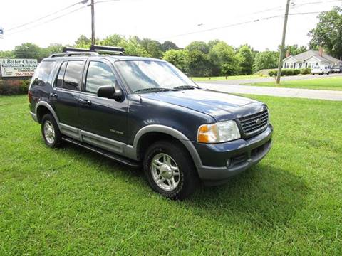 2002 Ford Explorer for sale at Sellurcar Inc. in Concord NC