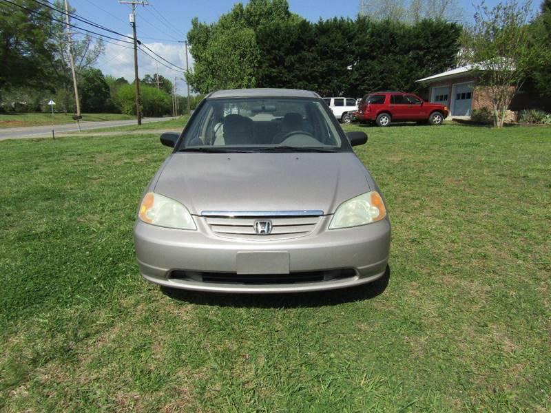 2001 Honda Civic LX 4dr Sedan   Concord NC