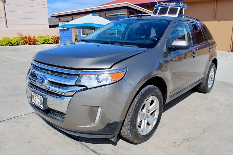 Ford Edge Sel Dr Crossover Ohana Motors Across From Costco Gas Lihue