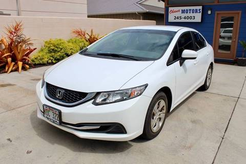 2014 Honda Civic for sale in Ohana Motors-Across From Costco Gas- Lihue, HI