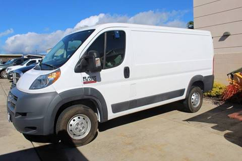 2017 RAM ProMaster Cargo for sale in Ohana Motors-Across From Costco Gas- Lihue, HI