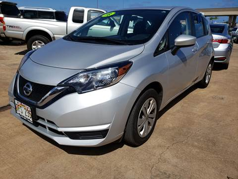 2018 Nissan Versa Note for sale in Ohana Motors-Across From Costco Gas- Lihue, HI