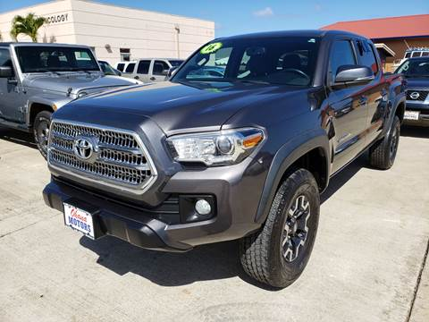 2016 Toyota Tacoma for sale in Ohana Motors-Across From Costco Gas- Lihue, HI