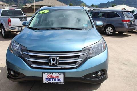 2013 Honda CR-V for sale in Ohana Motors-Across From Costco Gas- Lihue, HI
