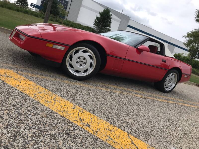 1987 Chevrolet Corvette 2dr Convertible - Batavia IL