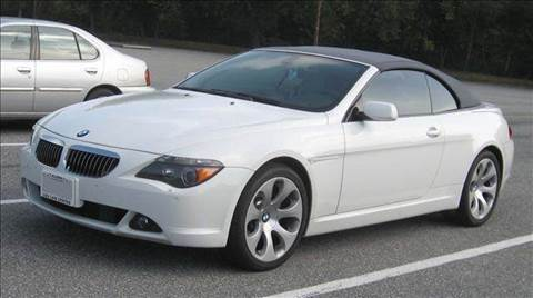 2007 BMW 6 Series for sale at Luxury Auto Finder in Batavia IL