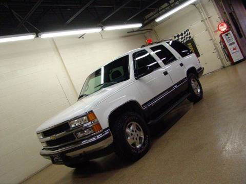 1995 Chevrolet Tahoe for sale at Luxury Auto Finder in Batavia IL