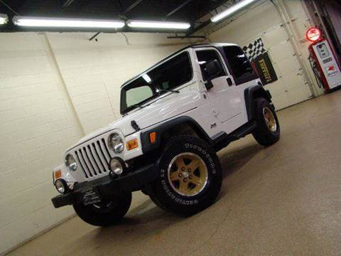 2006 Jeep Wrangler for sale at Luxury Auto Finder in Batavia IL