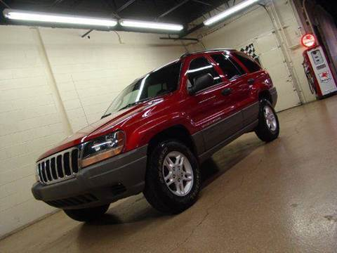 2002 Jeep Grand Cherokee for sale at Luxury Auto Finder in Batavia IL