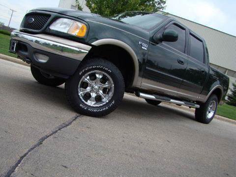 2001 Ford F-150 for sale at Luxury Auto Finder in Batavia IL