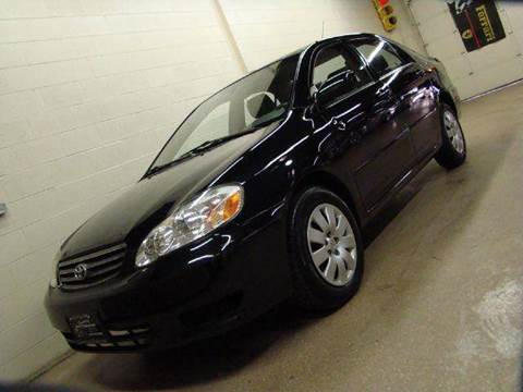 2003 Toyota Corolla for sale at Luxury Auto Finder in Batavia IL