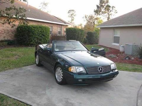 1996 Mercedes-Benz SL-Class for sale at Luxury Auto Finder in Batavia IL