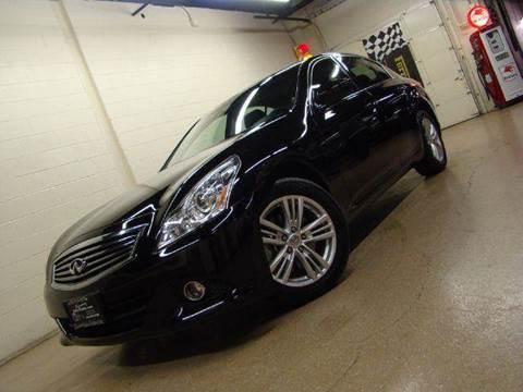2012 Infiniti G37 Sedan for sale at Luxury Auto Finder in Batavia IL