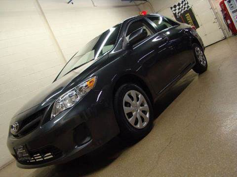 2011 Toyota Corolla for sale at Luxury Auto Finder in Batavia IL