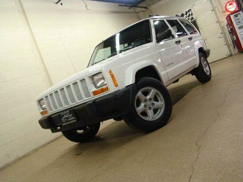 1997 Jeep Cherokee for sale at Luxury Auto Finder in Batavia IL
