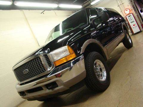 2000 Ford Excursion for sale at Luxury Auto Finder in Batavia IL