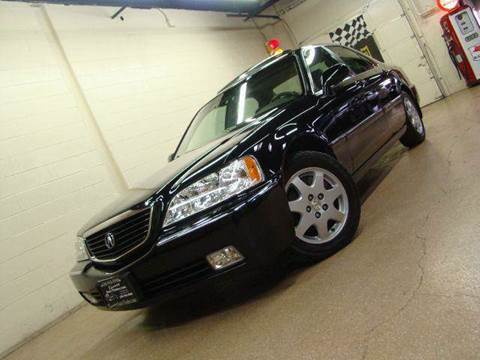 2002 Acura RL for sale at Luxury Auto Finder in Batavia IL