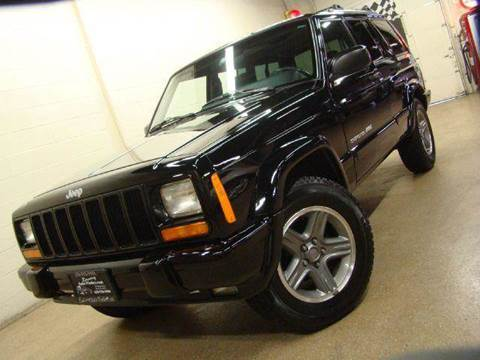 2000 Jeep Cherokee for sale at Luxury Auto Finder in Batavia IL